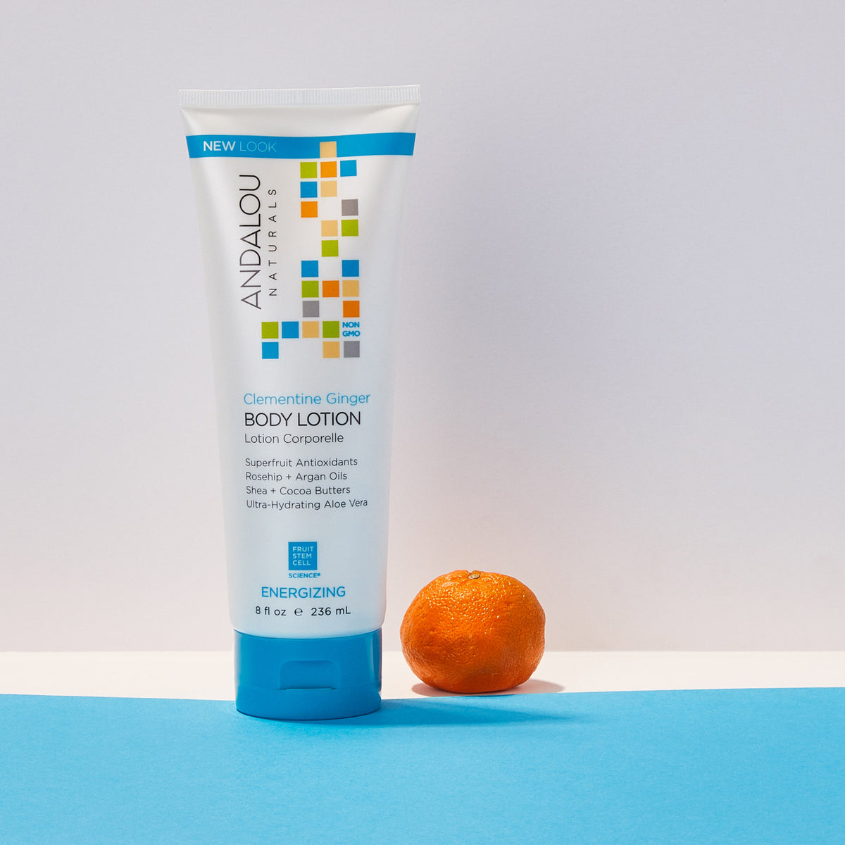 Andalou Naturals Clementine Ginger Energizing Body Lotion with clementine