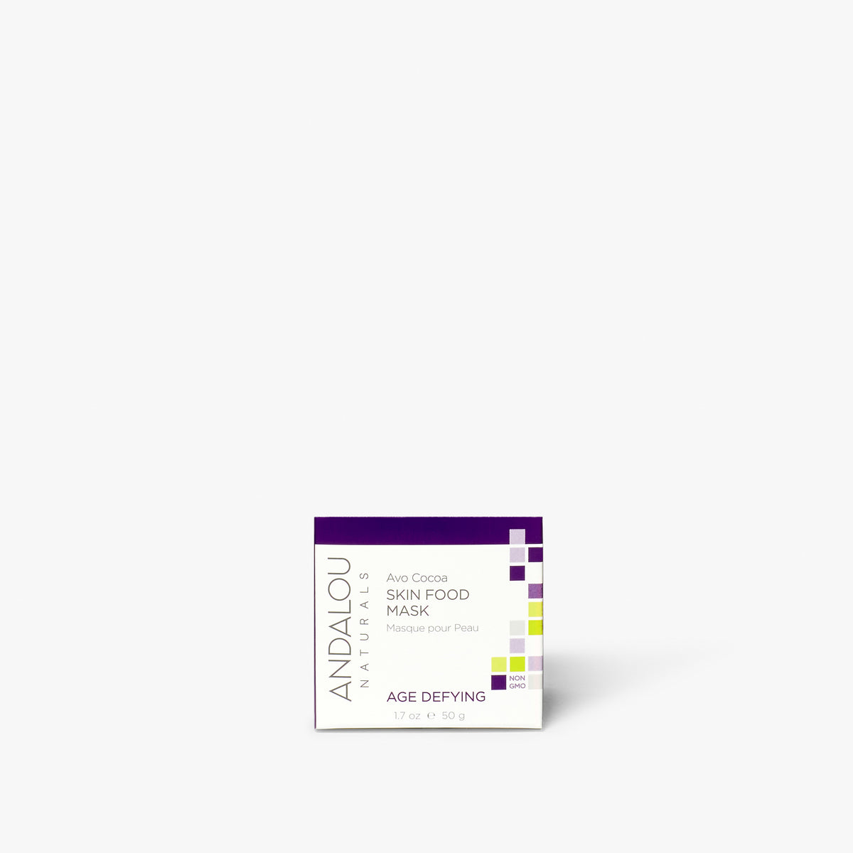 Andalou Naturals Age Defying Avo Cocoa Skin Food Mask box