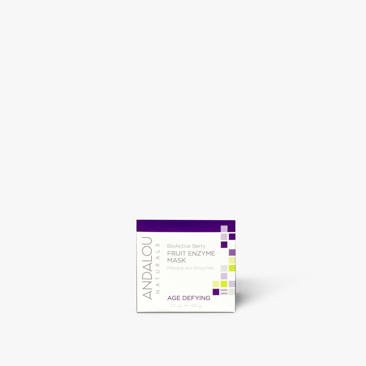 Andalou Naturals Age Defying BioActive Berry Fruit Enzyme Mask box