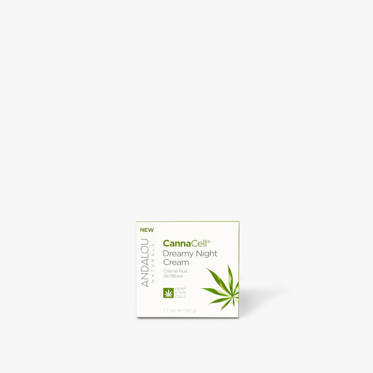CannaCell Dreamy Night Cream - Andalou Naturals US