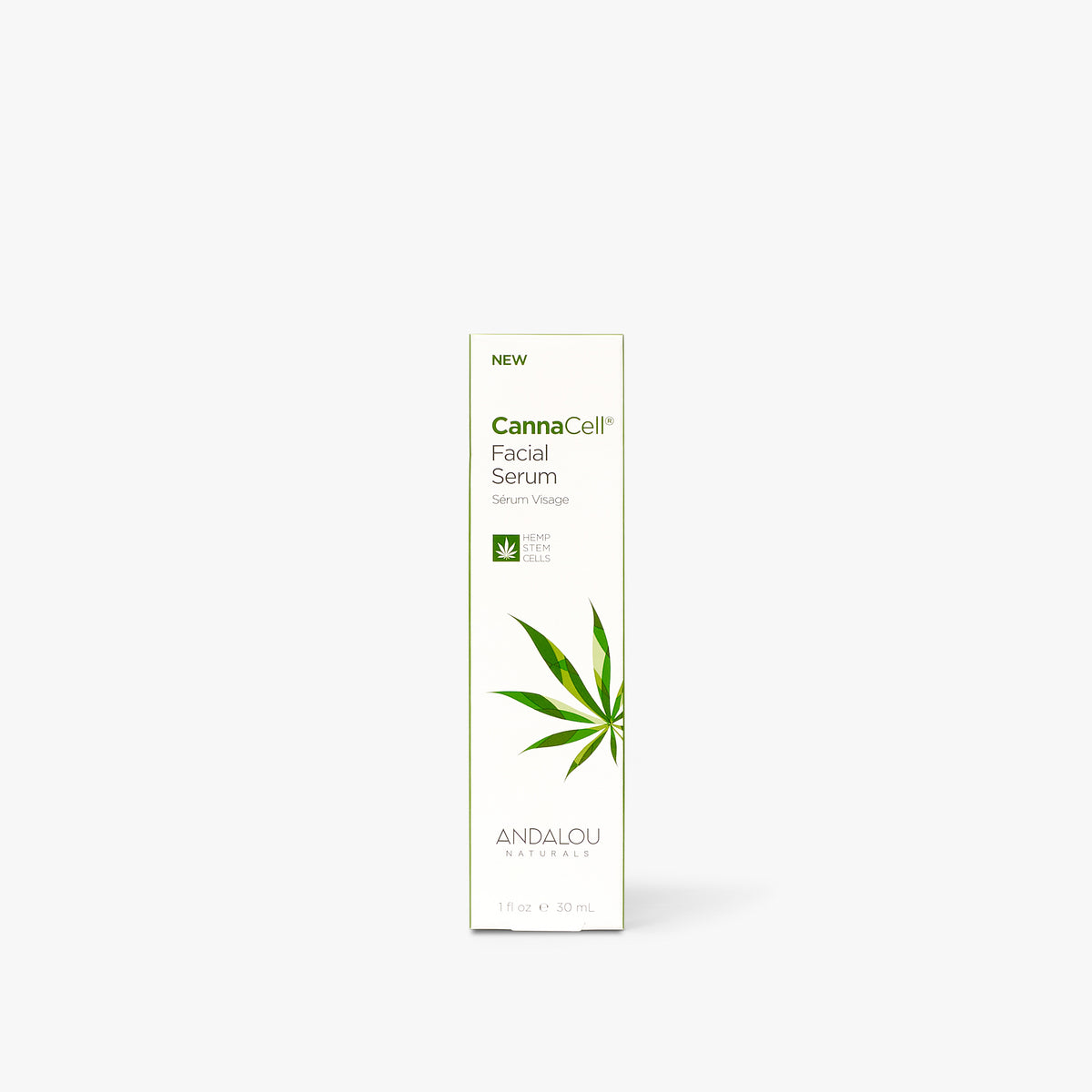 Andalou Naturals CannaCell Facial Serum box