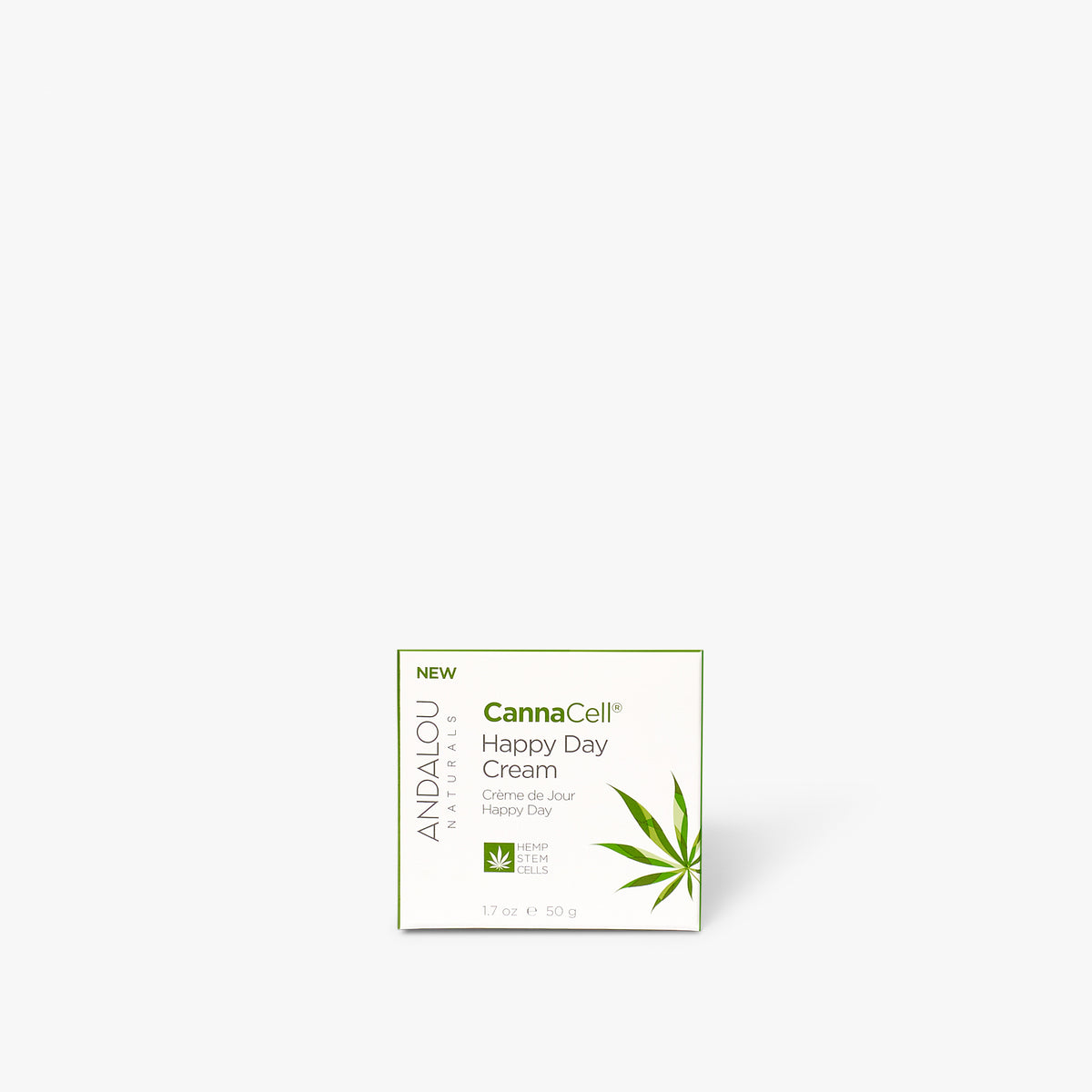 Andalou Naturals CannaCell Happy Day Cream box