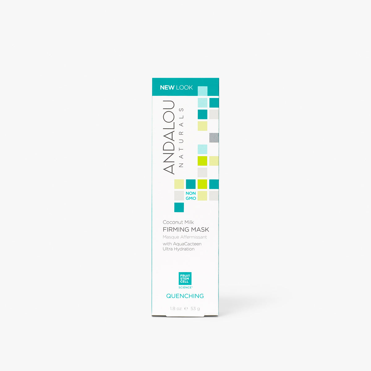 Andalou Naturals Quenching Coconut Milk Firming Mask box