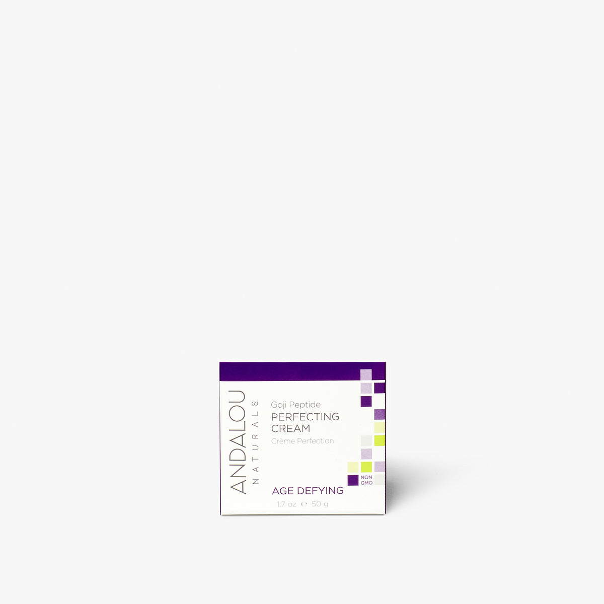 Andalou Naturals Age Defying Goji Peptide Perfecting Cream box