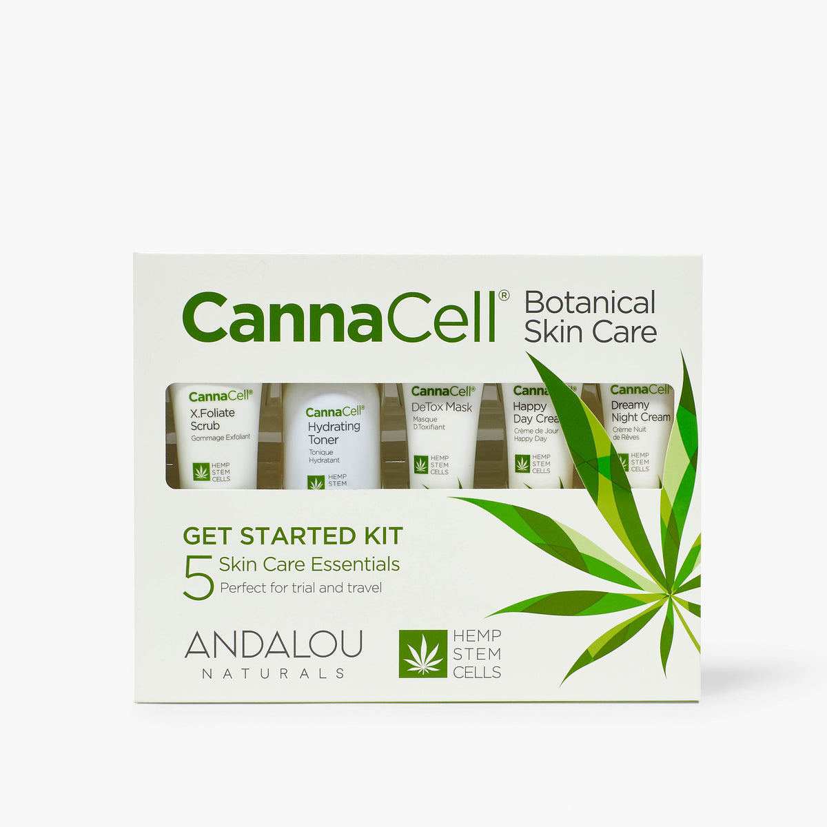 Cannacell Get Started Kit packaging