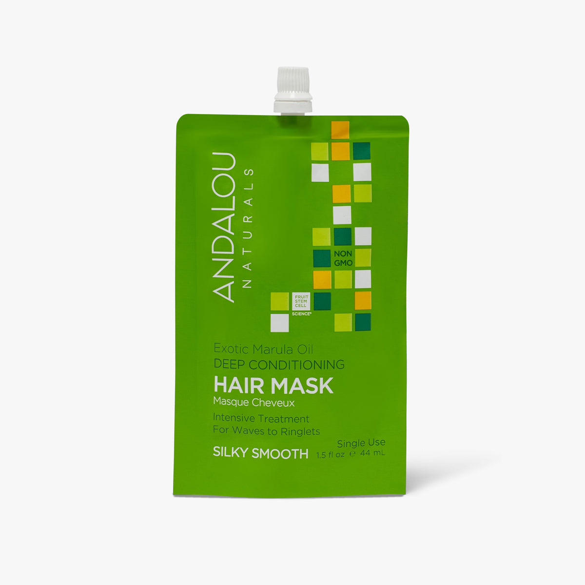 Exotic Marula Oil Silky Smooth Deep Conditioning Hair Mask - Andalou Naturals US