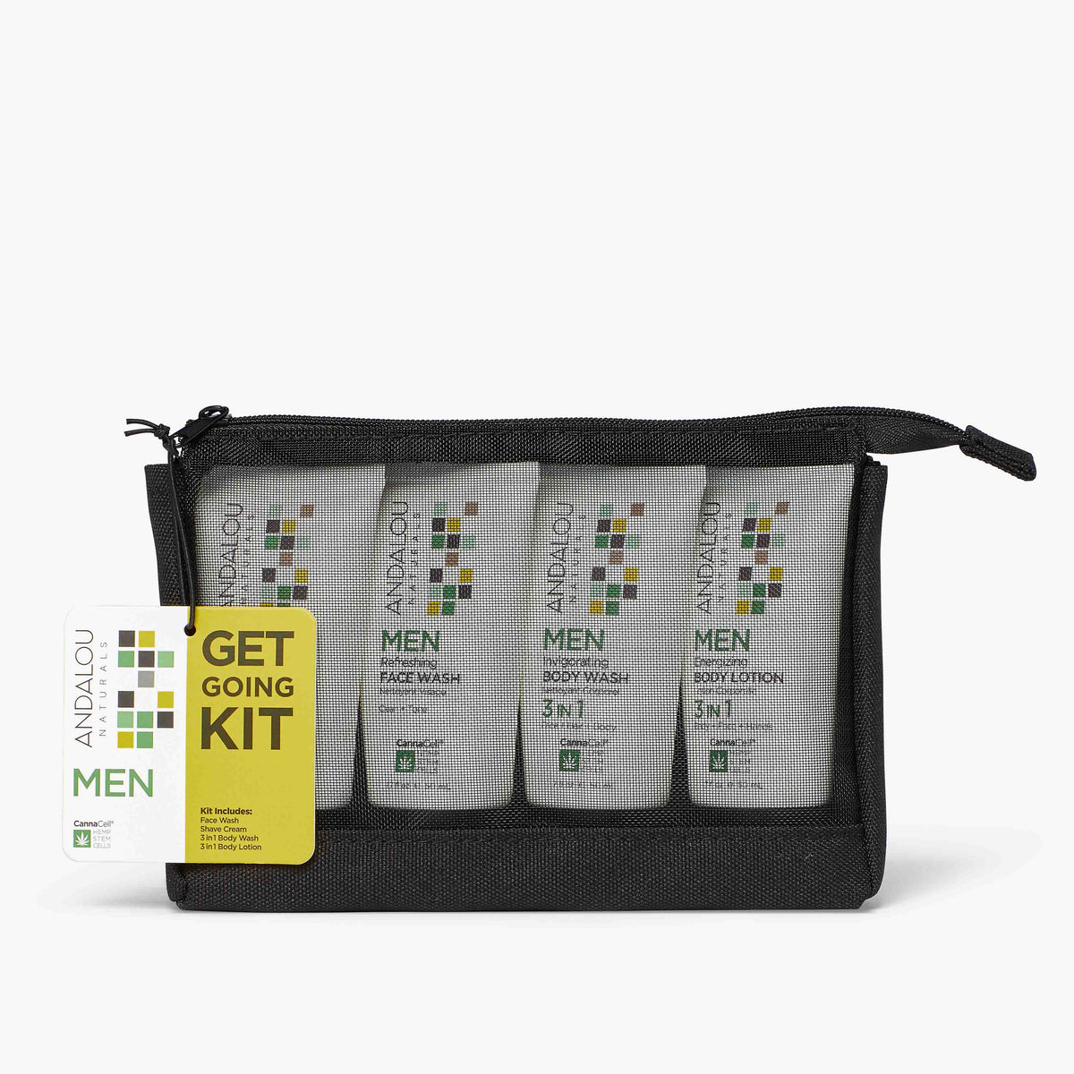 MEN Get Going Kit - Andalou Naturals US