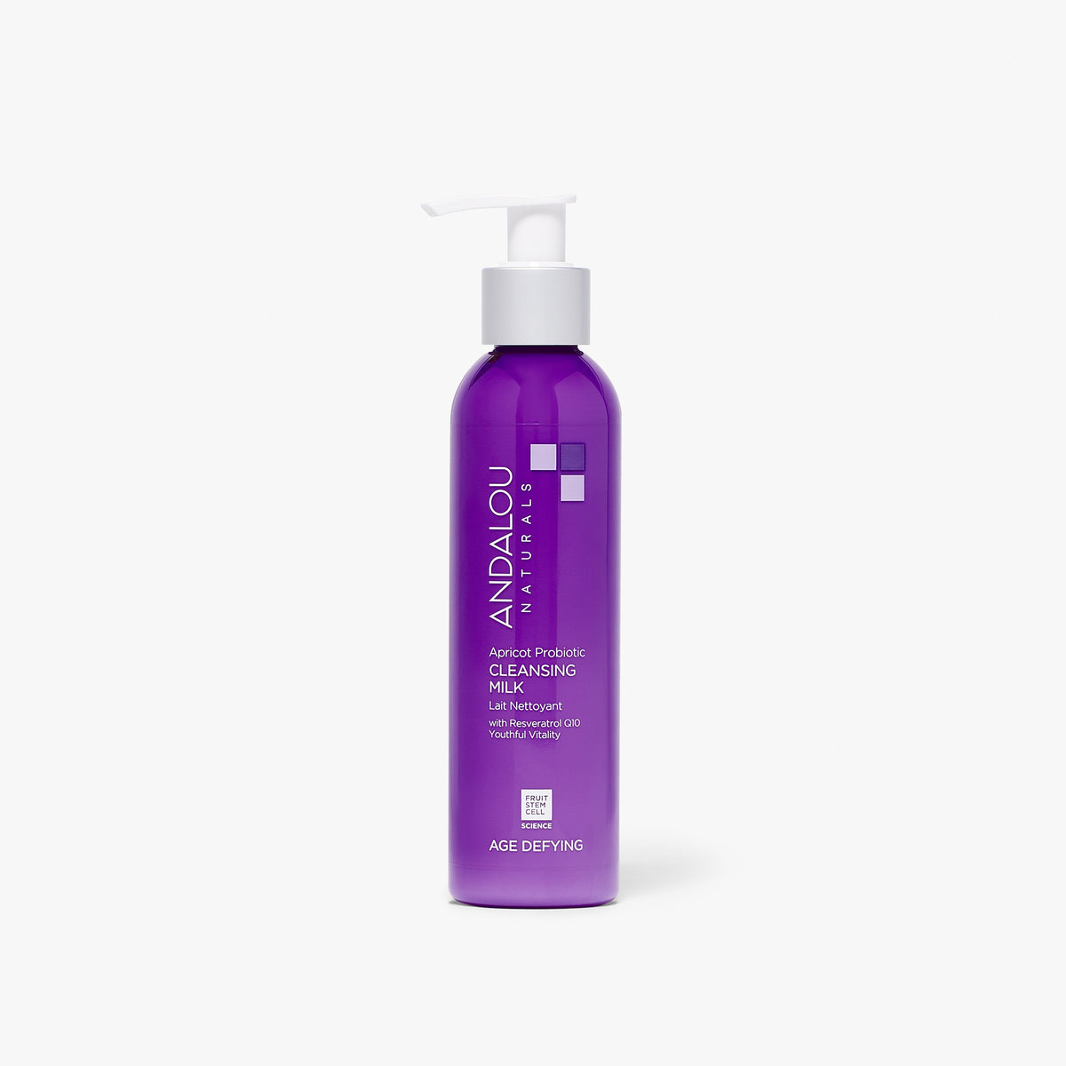 Andalou Naturals Age Defying Apricot Probiotic Cleansing Milk bottle