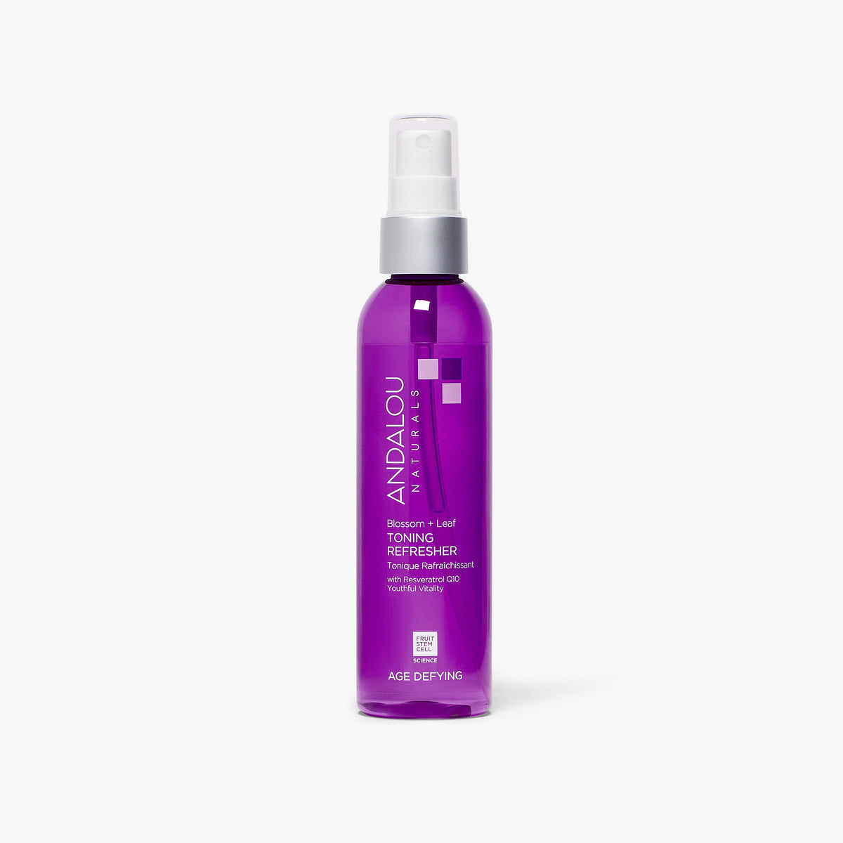 Andalou Naturals Age Defying Blossom + Leaf Toning Refresher bottle