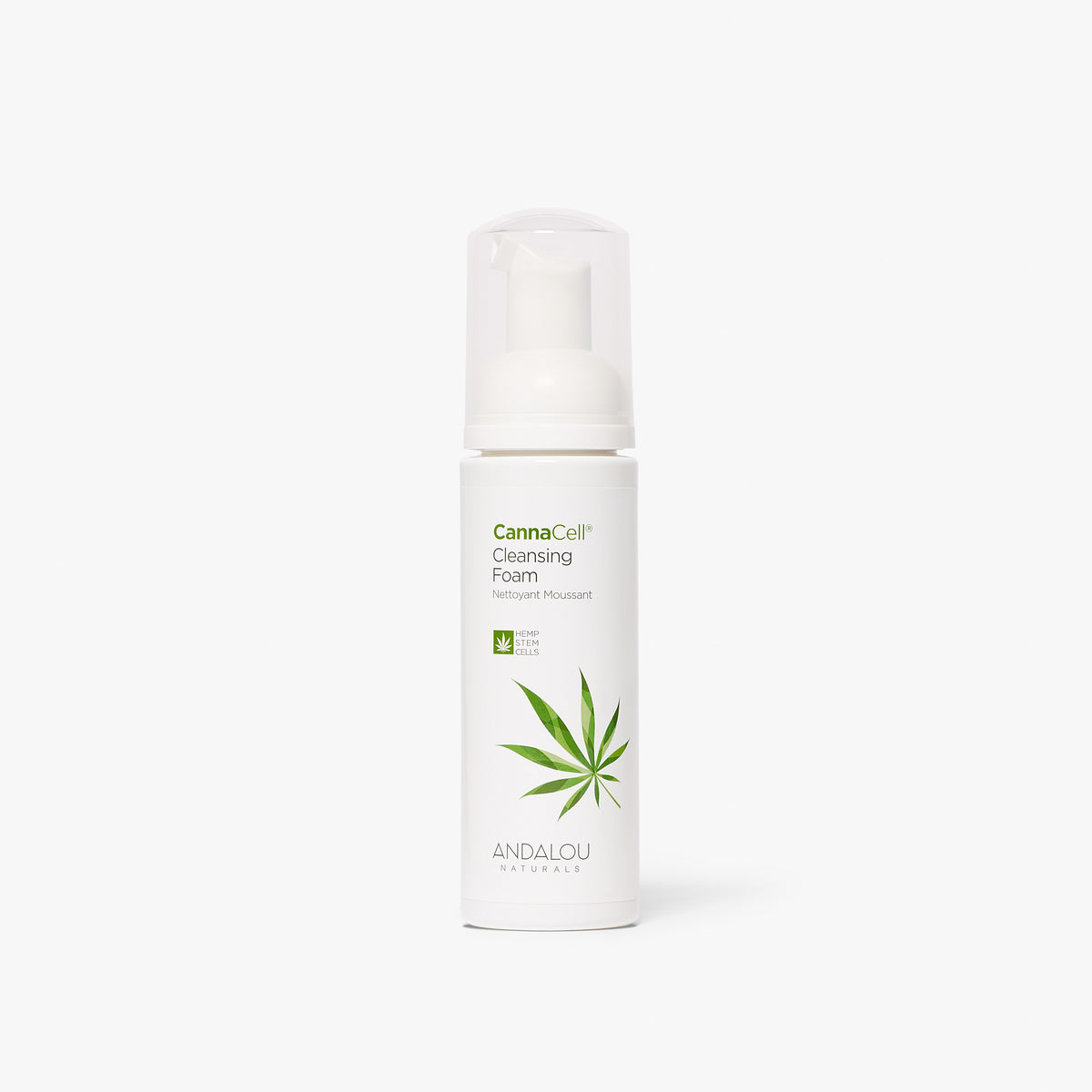 CannaCell Cleansing Foam - Andalou Naturals US