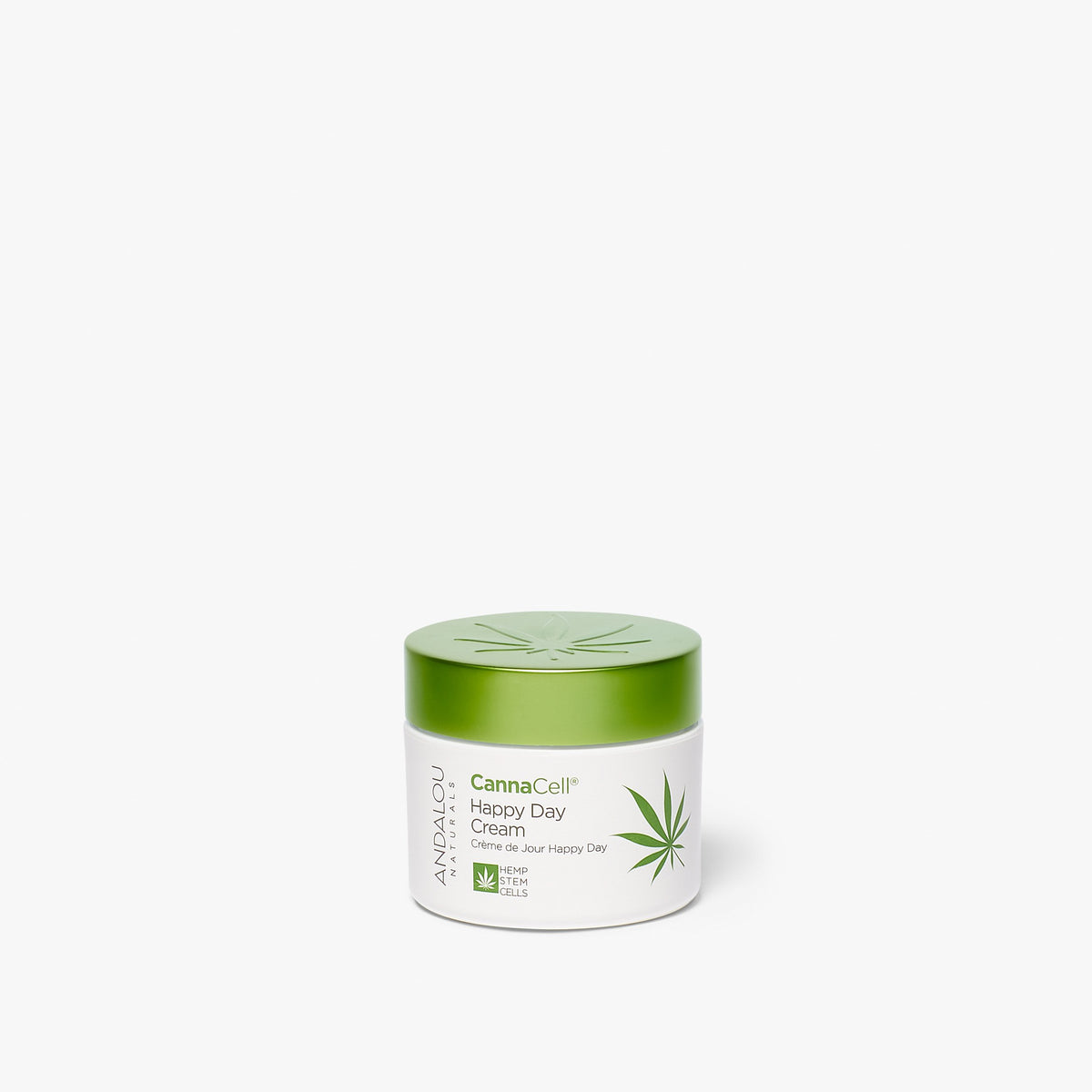 Andalou Naturals CannaCell Happy Day Cream jar
