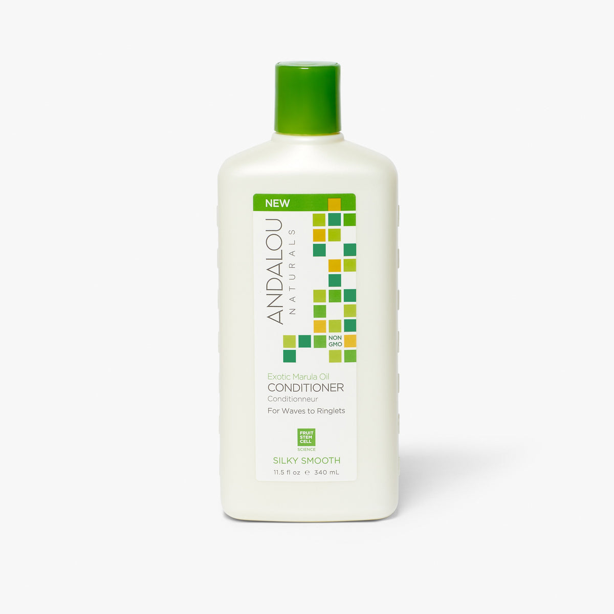 Andalou Naturals Exotic Marula Oil Silky Smooth Conditioner bottle