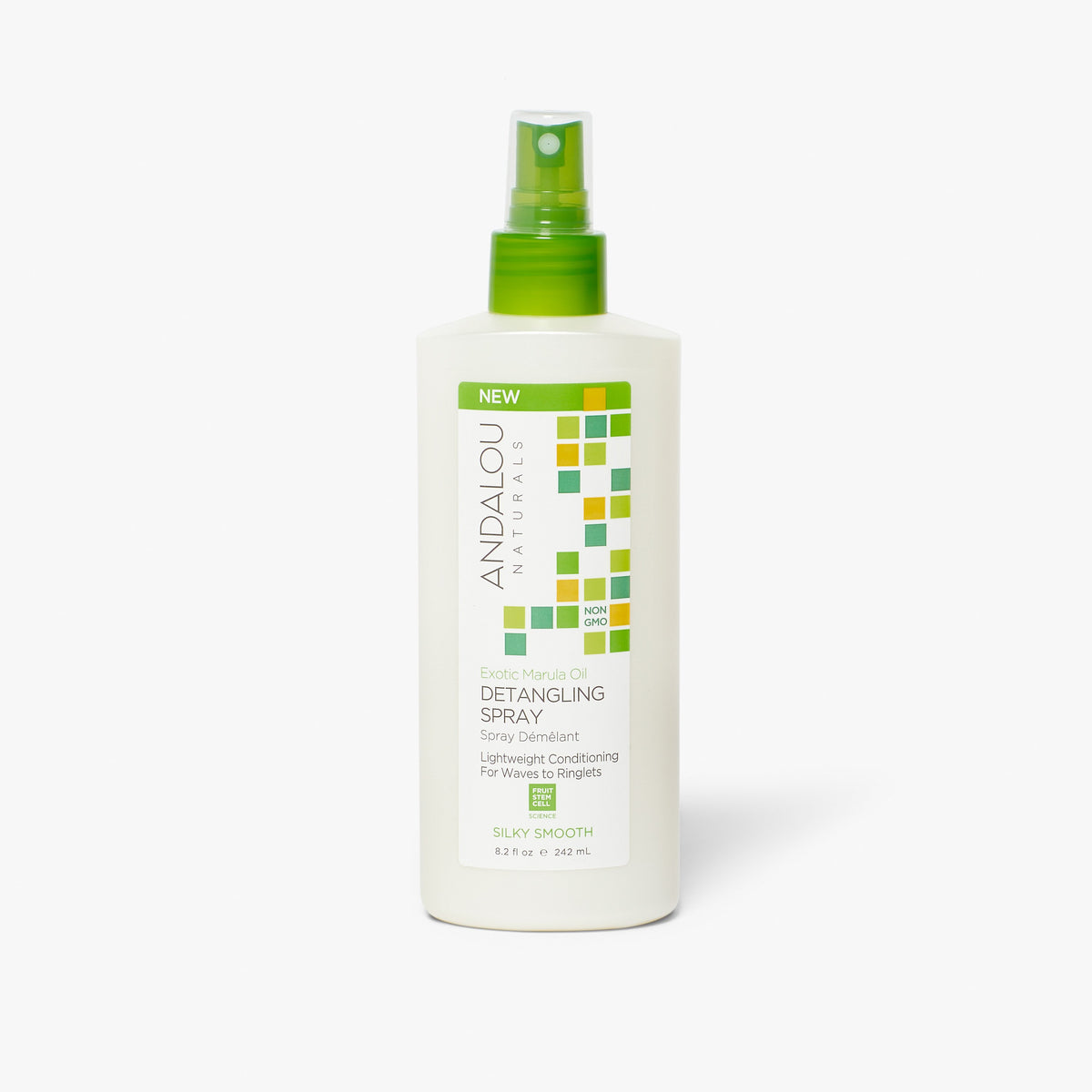 Andalou Naturals Exotic Marula Oil Silky Smooth Detangling Hair Spray