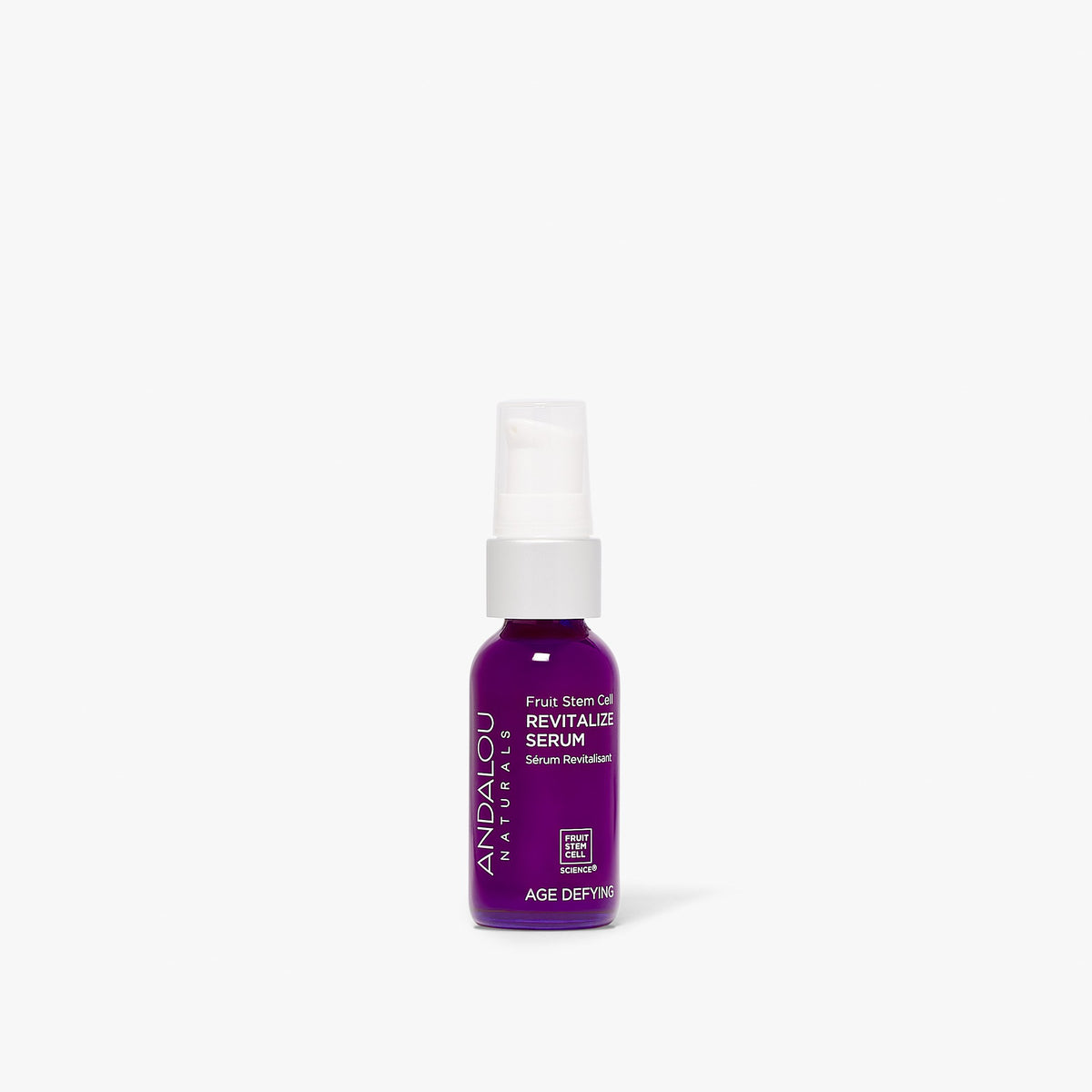 Andalou Naturals Age Defying Fruit Stem Cell Revitalize Serum bottle