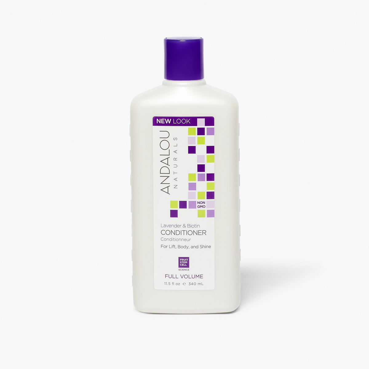 Lavender & Biotin Full Volume Conditioner - Andalou Naturals US