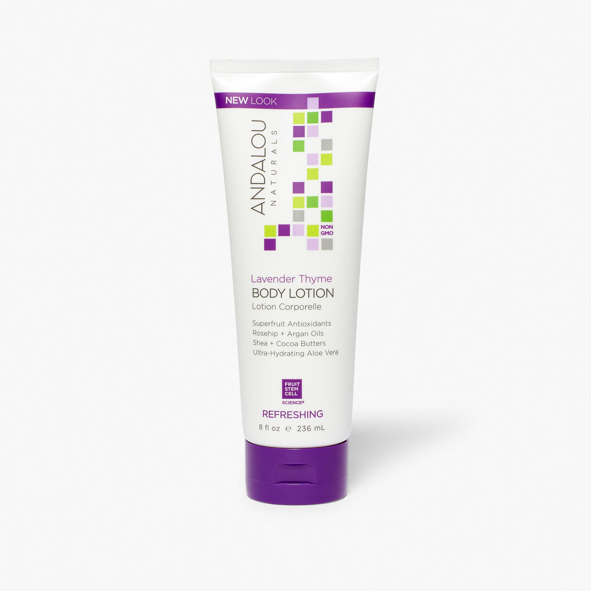 Lavender Thyme Refreshing Body Lotion - Andalou Naturals US