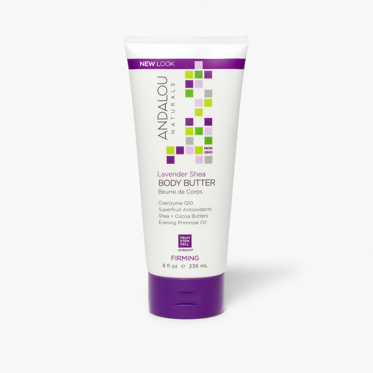 Andalou Naturals Lavender Shea Firming Body Butter