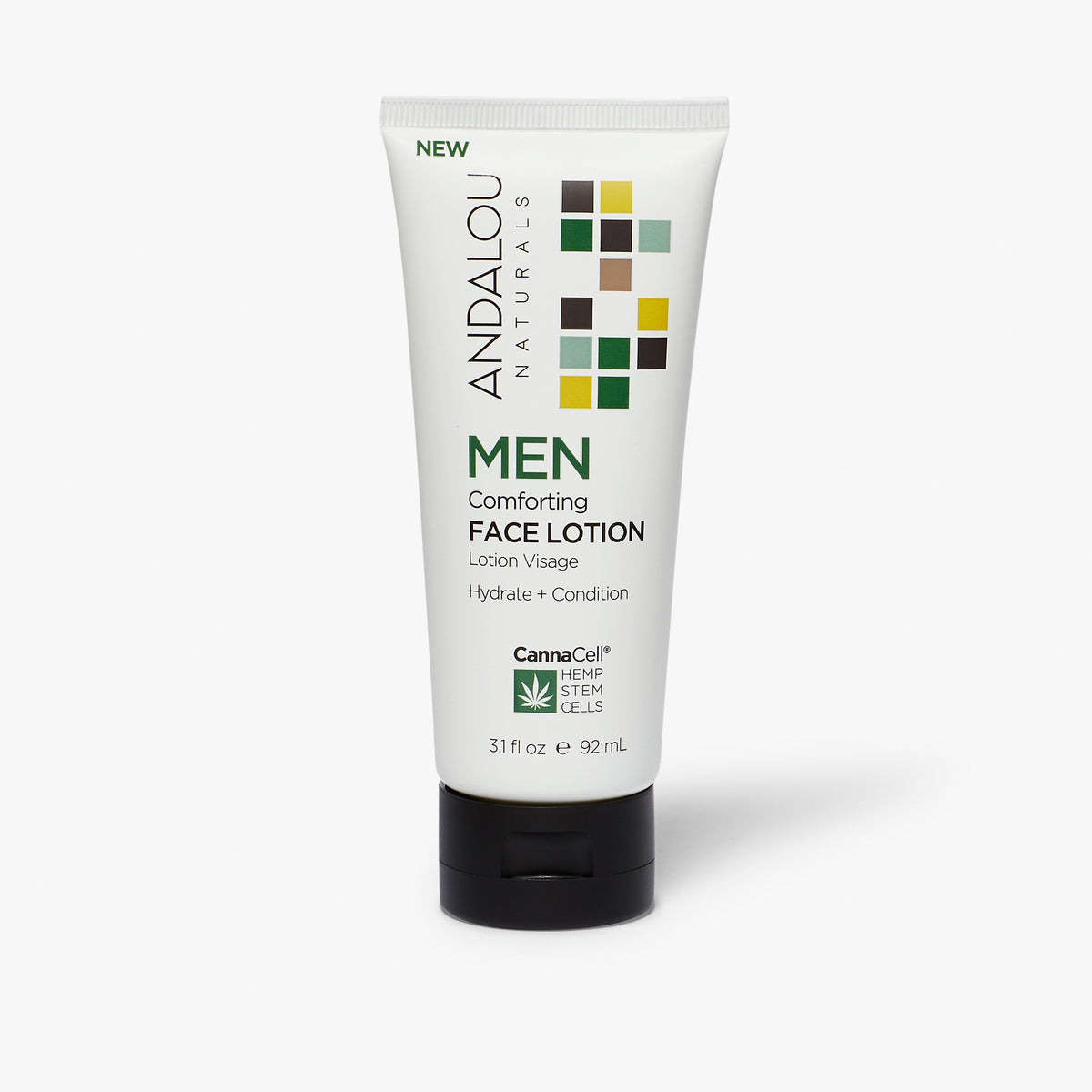 MEN Comforting Face Lotion - Andalou Naturals US