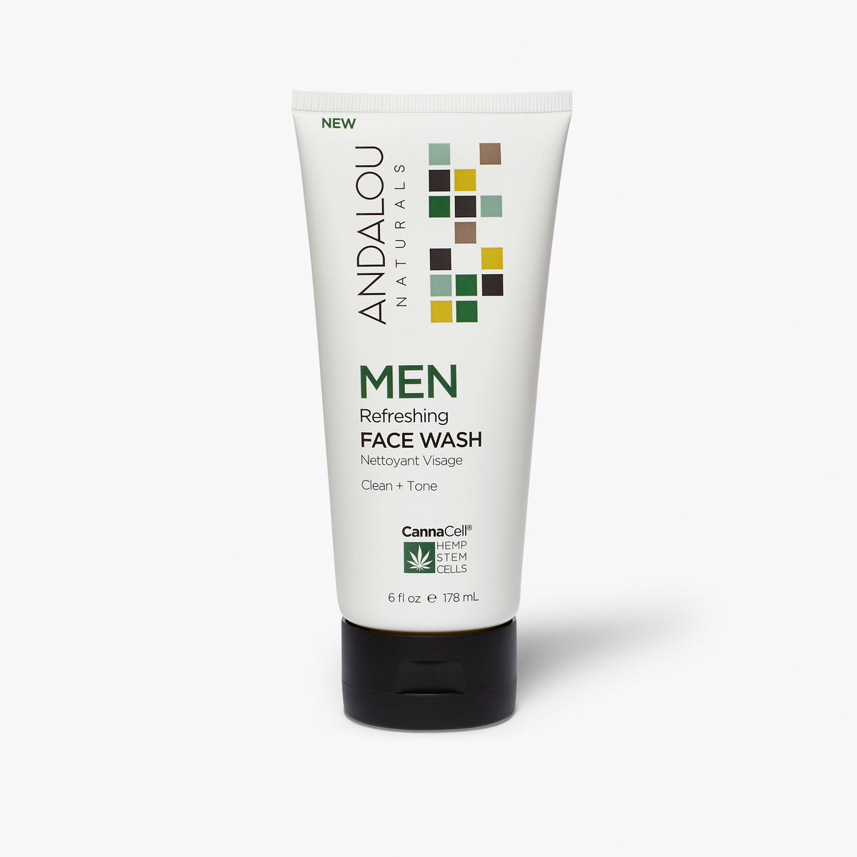 MEN Refreshing Face Wash - Andalou Naturals US