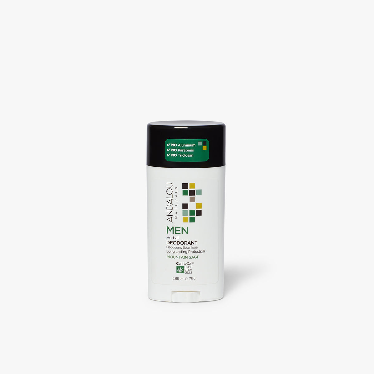 Andalou Naturals Men's Botanical Deodorant Mountains Sage