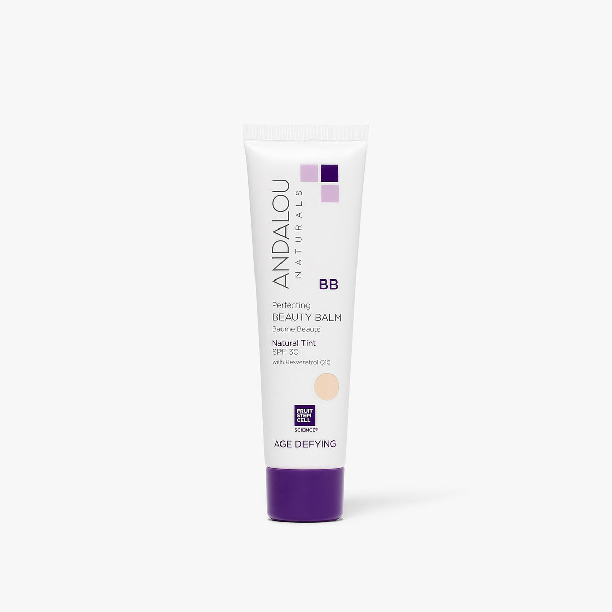 Age Defying Perfecting BB Beauty Balm Natural Tint SPF 30 - Andalou Naturals US