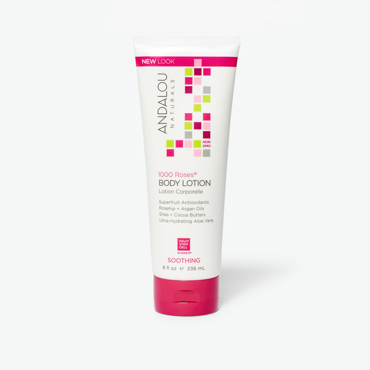 Sensitive 1000 Roses Soothing Body Lotion - Andalou Naturals US