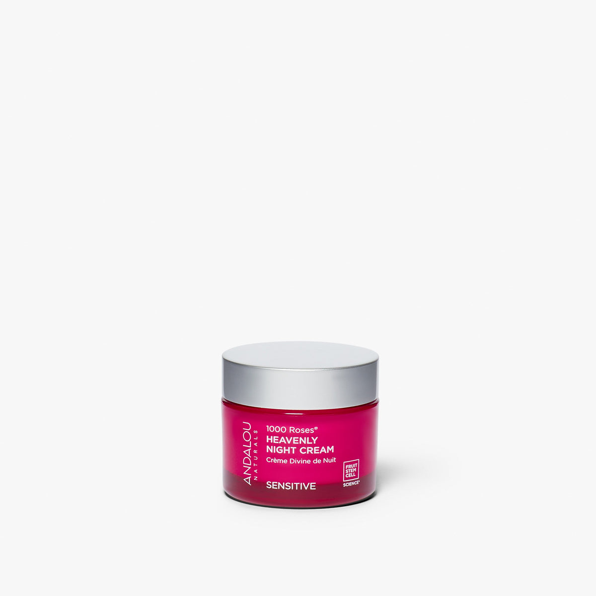 Sensitive 1000 Roses Heavenly Night Cream - Andalou Naturals US