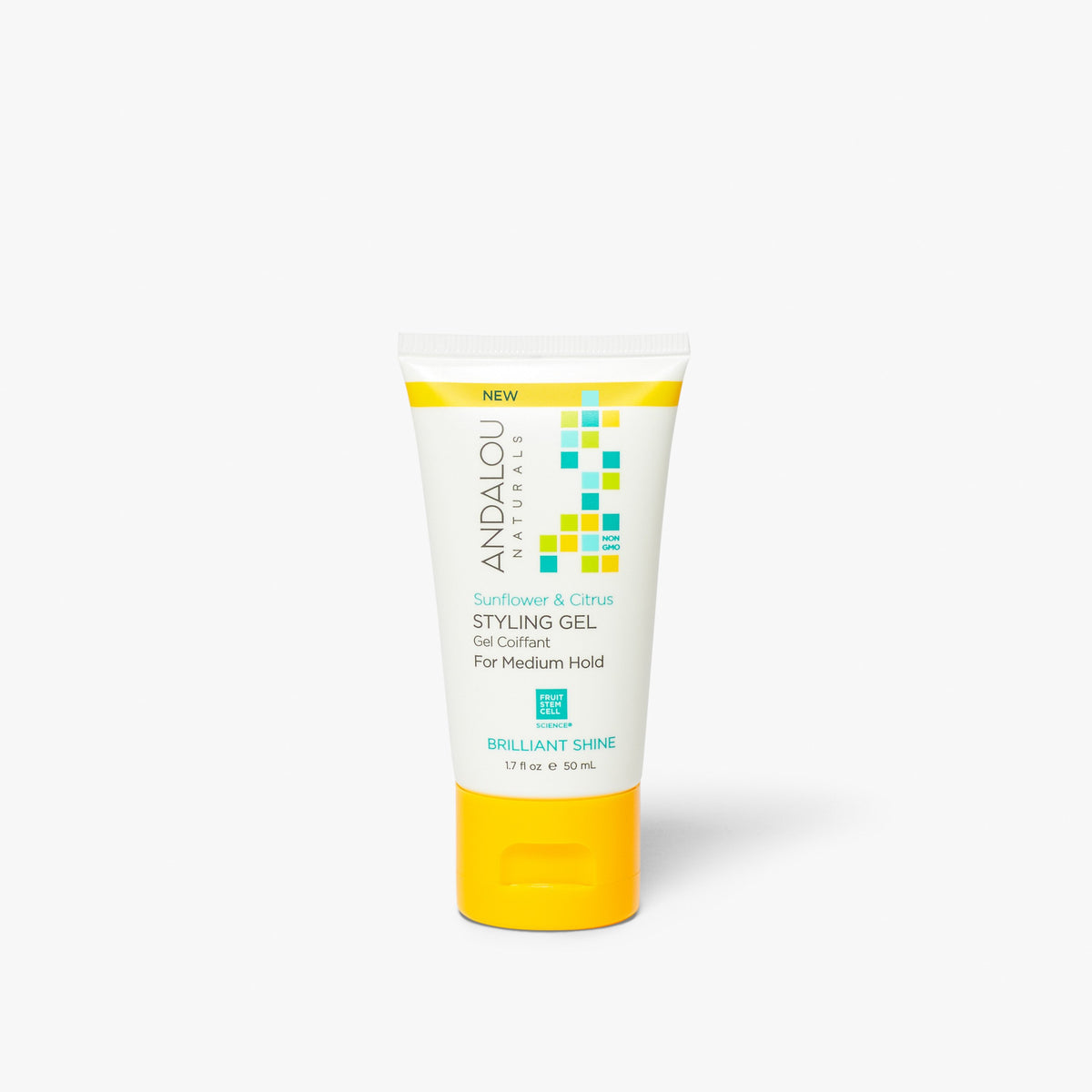 Sunflower & Citrus Brilliant Shine Styling Gel | Trial Size - Andalou Naturals US