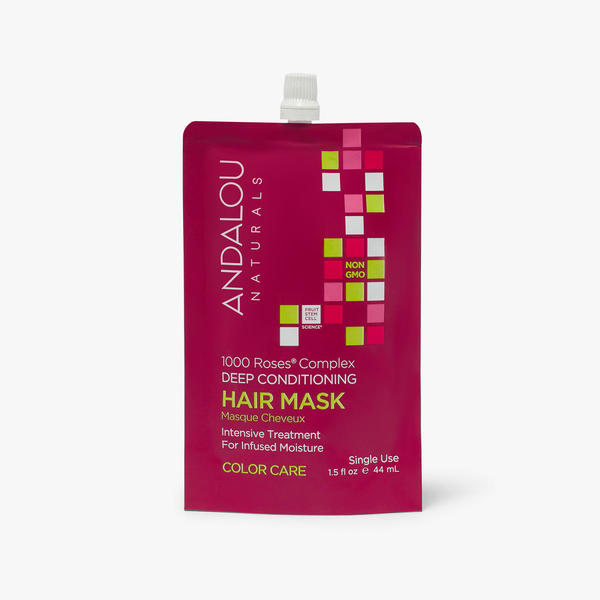 1000 Roses Complex Color Care Deep Conditioning Hair Mask - Andalou Naturals US