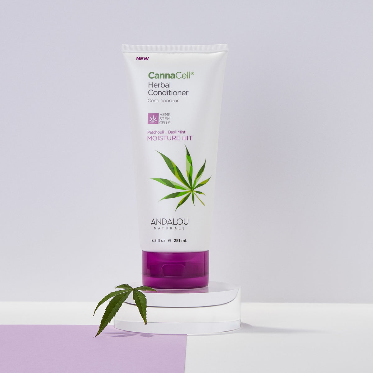 CannaCell Herbal Conditioner - Moisture Hit - Andalou Naturals US