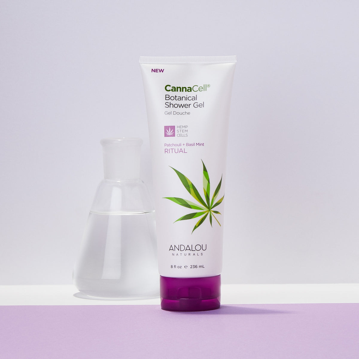 CannaCell Shower Gel - Ritual - Andalou Naturals US