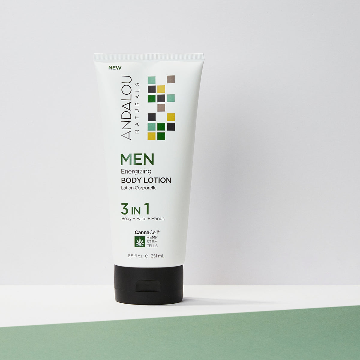 MEN Energizing Body Lotion 3 IN 1 - Andalou Naturals US