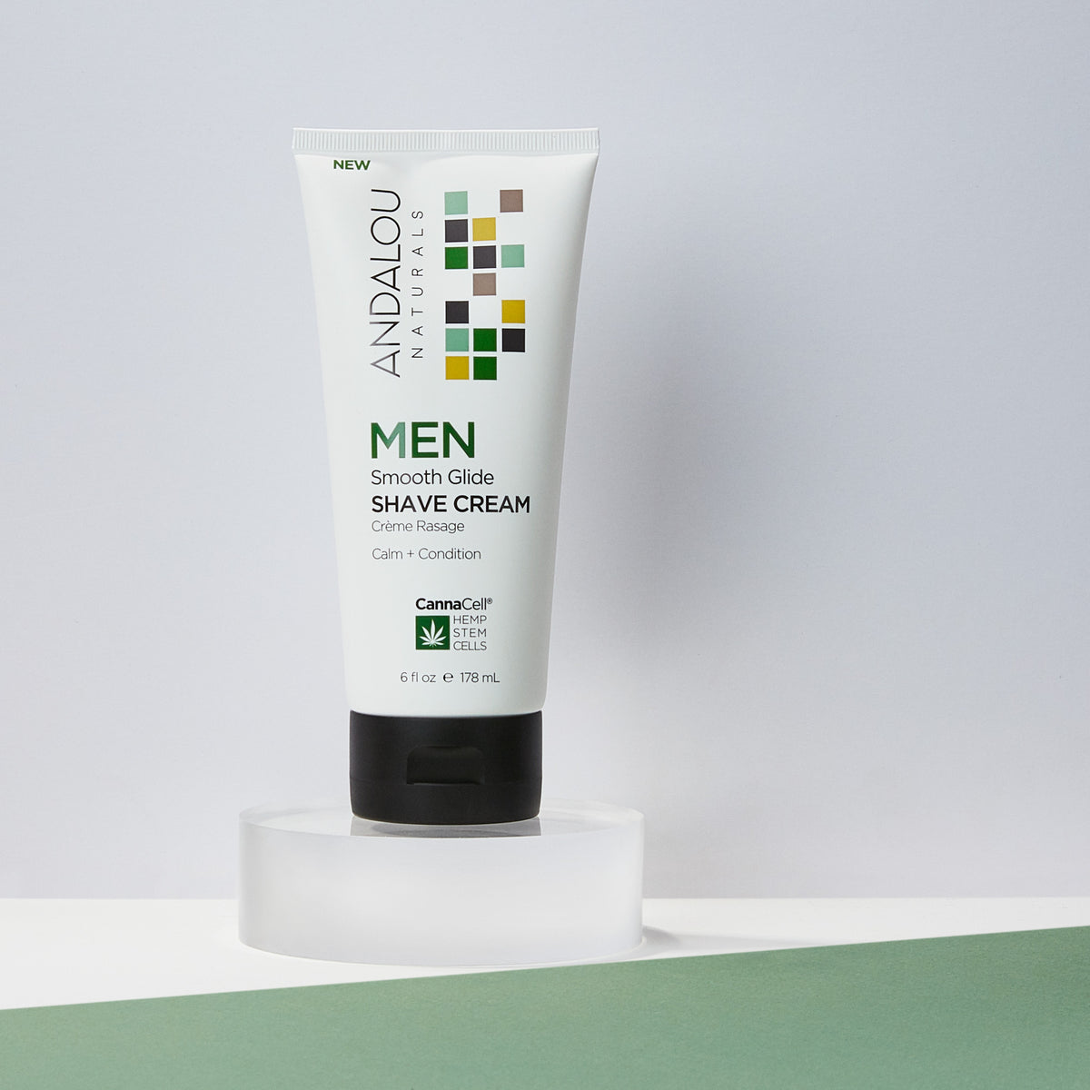 MEN Smooth Glide Shave Cream - Andalou Naturals US