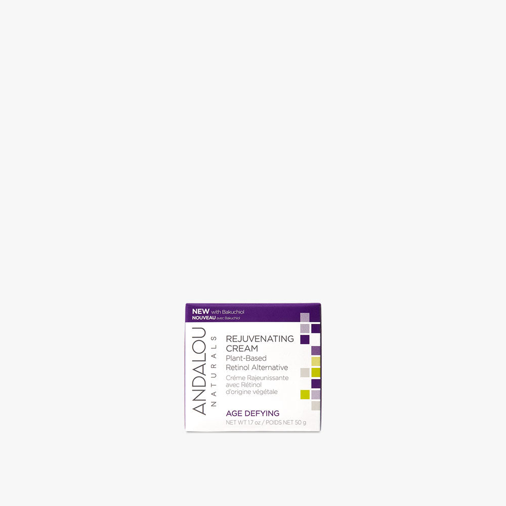Age Defying Rejuvenating Plant-Based Retinol Alternative Cream - Andalou Naturals US