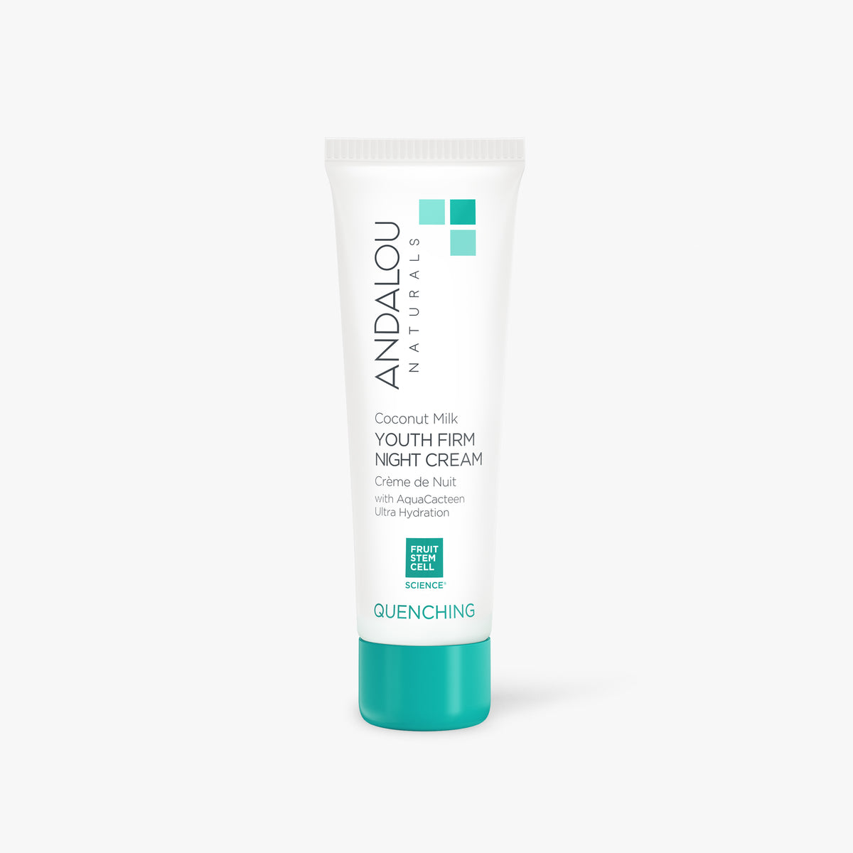 Quenching Coconut Milk Youth Firm Night Cream - Andalou Naturals US
