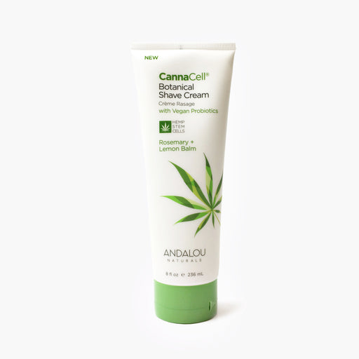 CannaCell Botanical Shave Cream - Rosemary + Lemon Balm