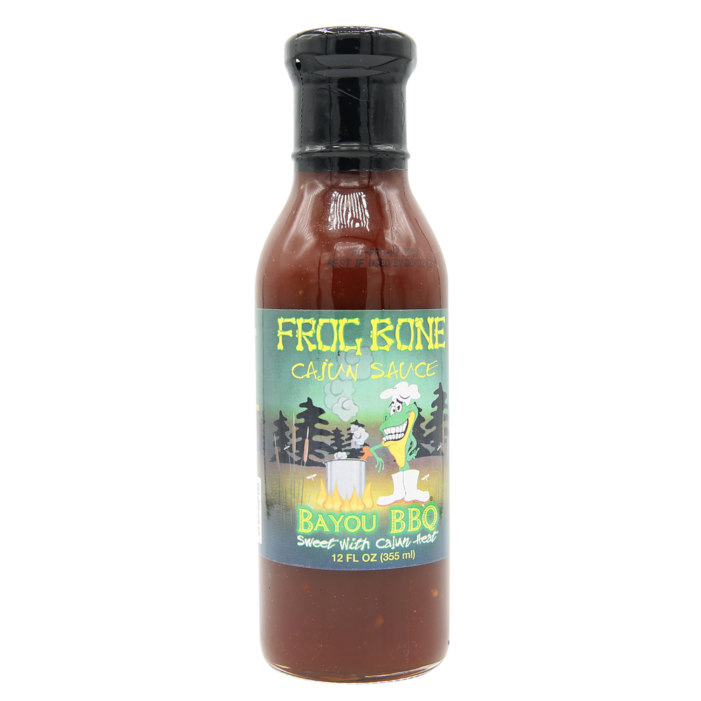 Frog Bone Bayou Sauces Multi-Pack (BBQ, Remoulade, Spanish Moss) - 12oz bottles