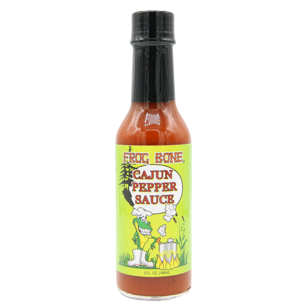 Frog Bone Cajun Pepper Hot Sauce, 5oz