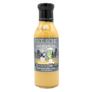 Frog Bone Spanish Moss White BBQ Sauce, 12oz