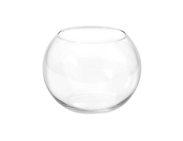 Glass Fish Bowl 15cm Clear