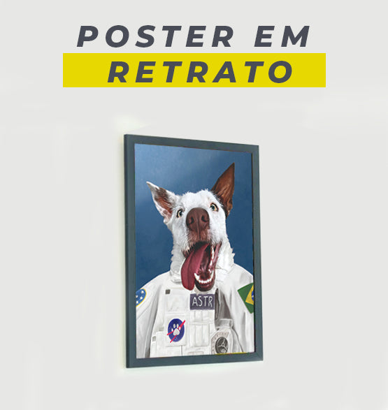 Poster Persona - Seu Pet Art