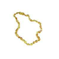 AMBER HONEY TEETHING NECKLACE