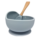 Silicone Bowl and Spoon