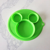 MAGIC SILICON NO SLIP TODDLER PLATES
