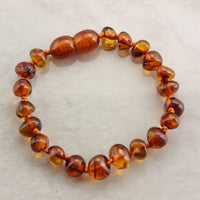 Baltic Amber Ankle/Wrist Bracelet - Baby