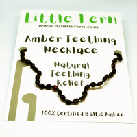 AMBER CHERRY NECKLACE