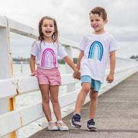 Intrinsic Design Rainbow T's with FREE Rainbow Ribbons