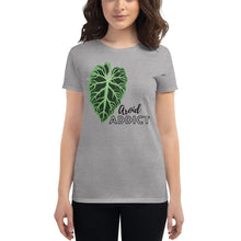 "Load image into Gallery viewer, Women's Verrucosum ""Aroid Addict"" t-shirt"