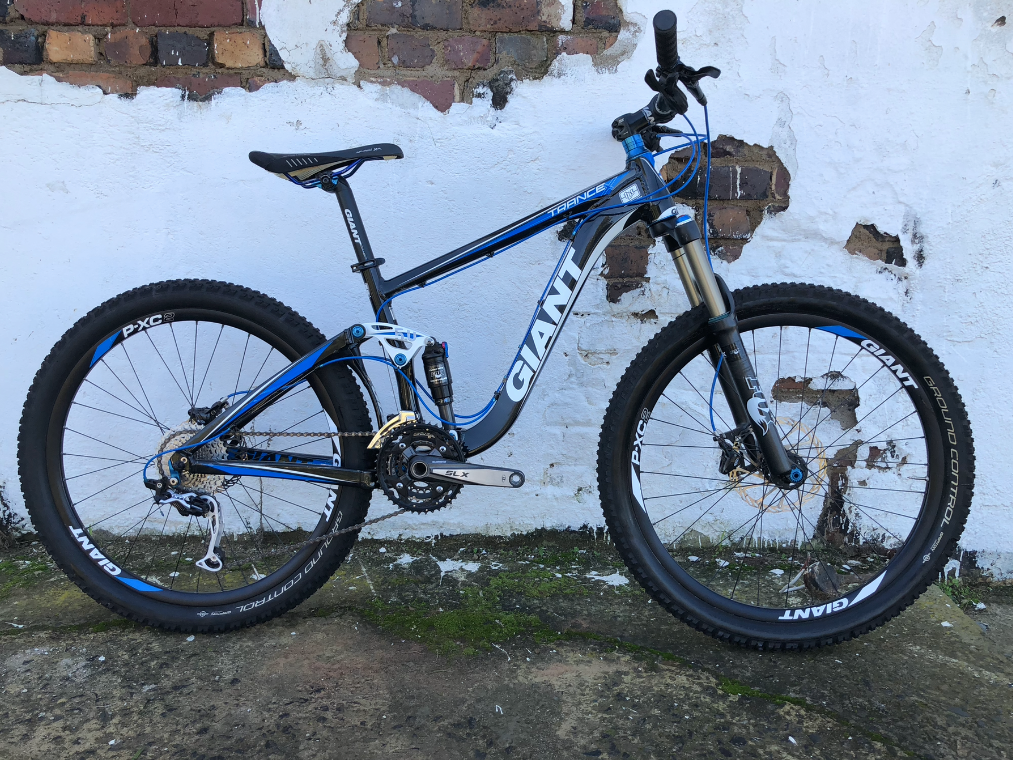 2011 GIANT TRANCE X2 SMALL DUAL SUSPENSION 26