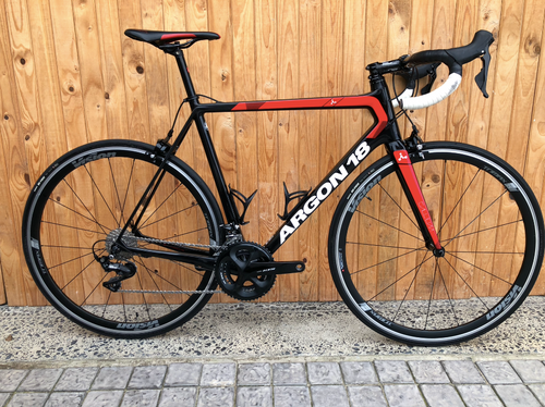 2018 ARGON 18 GALLIUM 8000 L/56CM CARBON ROAD BIKE ( PRE-OWNED )
